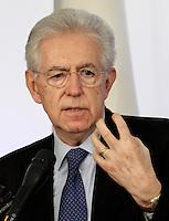 20121223 ROMA-POLITICA: MONTI, CONFERENZA STAMPA POLEMICA CONTRO BERLUSCONI