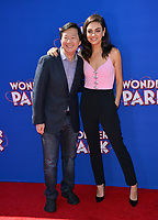 LOS ANGELES, CA. March 10, 2019: Ken Jeong &amp; Mila Kunis at the premiere of &quot;Wonder Park&quot; at the Regency Village Theatre.<br /> Picture: Paul Smith/Featureflash