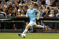 James Milner, Manchester City in action..Manchester City defeated Chelsea 4-3 in an international friendly at Busch Stadium, St Louis, Missouri.