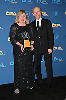 LOS ANGELES, CA. February 02, 2019: Kathleen McGill & Ron Howard at the 71st Annual Directors Guild of America Awards at the Ray Dolby Ballroom.<br /> Picture: Paul Smith/Featureflash