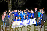 BASKETBALL: The Imperials Basketball team arrived back into Tralee on Saturday after victory in the Senior Womens National League Champions Basketball in Tallaght Co Dublin,on Saturday morning arrived bac in Tralee with Senior Womens NL Championship Cup they defeated Drimnagh by 53-24.