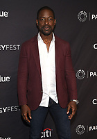"""HOLLYWOOD, CA - MARCH 24: Sterling K. Brown attends PaleyFest 2019 for 20th Century Fox Television's """"This is Us"""" at the Dolby Theatre on March 24, 2019 in Hollywood, California. (Photo by Frank Micelotta/20th Century Fox Television/PictureGroup)"""