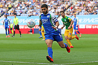 Wigan Athletic's Sam Morsy in action<br /> <br /> Photographer David Shipman/CameraSport<br /> <br /> The EFL Sky Bet Championship - Wigan Athletic v Preston North End - Monday 22nd April 2019 - DW Stadium - Wigan<br /> <br /> World Copyright © 2019 CameraSport. All rights reserved. 43 Linden Ave. Countesthorpe. Leicester. England. LE8 5PG - Tel: +44 (0) 116 277 4147 - admin@camerasport.com - www.camerasport.com