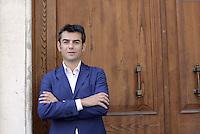 Roma, 3 Luglio 2014<br /> Convegno e assemblea dell'Anci<br /> L'associazione dei Comuni italiani per l'innovazione.<br /> Nella foto Massimo Zedda sindaco di Cagliari
