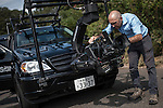Filming at the Nissan's Global manufacturing plant on October 05, 2012 in Tochigi, Japan. Photo by Victor Fraile / The Power of Sport Images