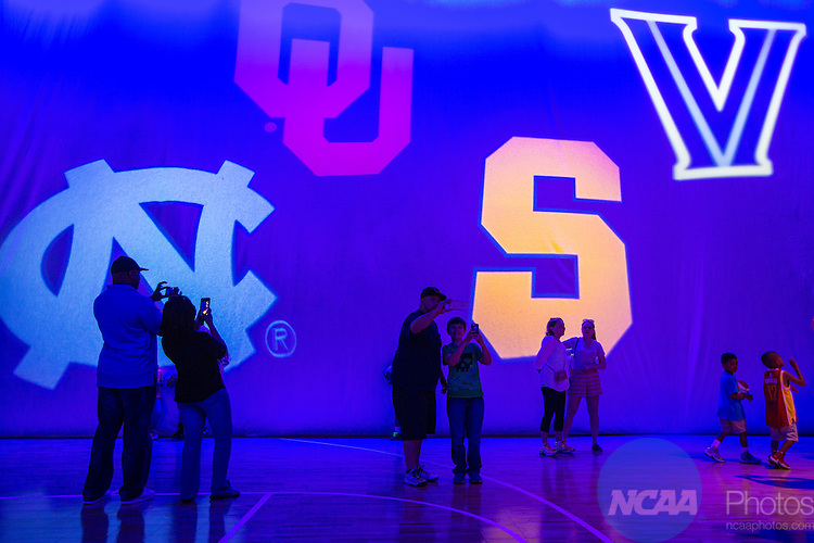 03 APR 2016: The Final Four Fan Fest held at the George R. Brown Convention Center during the 2016 NCAA Men's Final Four held in Houston, TX.  Matt Marriott/NCAA Photos