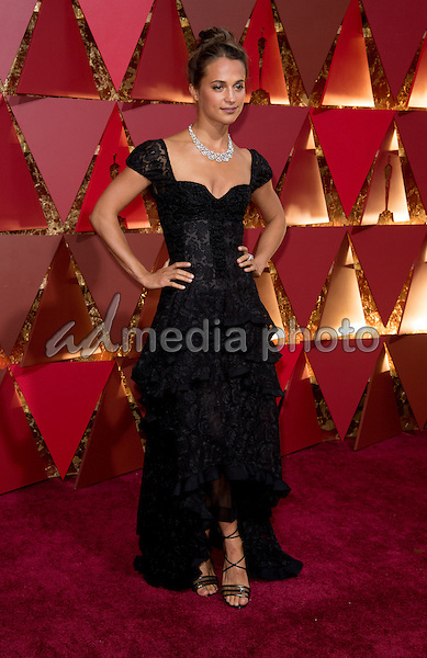 26 February 2017 - Hollywood, California - Alicia Vikander. 89th Annual Academy Awards presented by the Academy of Motion Picture Arts and Sciences held at Hollywood & Highland Center. Photo Credit: AMPAS/AdMedia