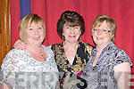 Eileen Walsh, Mags O'Callaghan and Mai Sheedy Millstreet enjoying the music at the Dermot Moriarty Country Music celebration in the INEC on Friday night