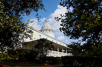 The dome atop DeFuniak Springs' Chautauqua Hall of Brotherhood contains the Lantern of Religious Trust. .COLIN HACKLEY PHOTO