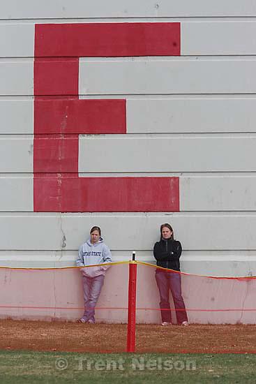 Salt Lake City - East vs. Murray high school girls softball, Tuesday March 24, 2009..fans