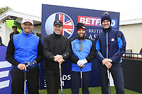 Andrew Johnston (ENG) and team during the Hero Pro-am at the Betfred British Masters, Hillside Golf Club, Lancashire, England. 08/05/2019.<br /> Picture Fran Caffrey / Golffile.ie<br /> <br /> All photo usage must carry mandatory copyright credit (&copy; Golffile | Fran Caffrey)