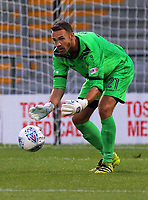 Pictured: Craig Ross of Barnet grabs the ball. Wednesday 12 July 2017<br /> Re: Pre-season friendly, Barnet v Swansea City FC at The Hive, London, UK
