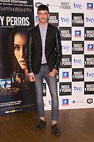 """Victor Palmero attends the """"DIOSES Y PERROS """" Movie presentation at Kinepolis Cinema in Madrid, Spain. October 6, 2014. (ALTERPHOTOS/Carlos Dafonte) /nortephoto.com"""