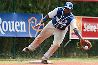 15 July 2010: Omar Williams is seen during day 3 of the Open de Rouen, an international tournament with Team France, Team Saint Martin, Team All Star Elite, at Stade Pierre Rolland, in Rouen, France.