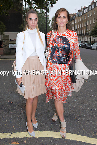 11.09.2014;London, England: YASMIN LE BON AND DAUGHTER AMBER<br /> attend the Memorial Service for Mark Shand at St Paul's Knightsbridge,London.<br /> Mark, Camilla's brother died in New York earlier this year.<br /> Mandatory Photo Credit: &copy;Francis Dias/NEWSPIX INTERNATIONAL<br /> <br /> **ALL FEES PAYABLE TO: &quot;NEWSPIX INTERNATIONAL&quot;**<br /> <br /> PHOTO CREDIT MANDATORY!!: NEWSPIX INTERNATIONAL(Failure to credit will incur a surcharge of 100% of reproduction fees)<br /> <br /> IMMEDIATE CONFIRMATION OF USAGE REQUIRED:<br /> Newspix International, 31 Chinnery Hill, Bishop's Stortford, ENGLAND CM23 3PS<br /> Tel:+441279 324672  ; Fax: +441279656877<br /> Mobile:  0777568 1153<br /> e-mail: info@newspixinternational.co.uk