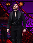 "Tam Mutu during the Broadway Opening Night performance Curtain Call bows for ""Moulin Rouge! The Musical"" at the Al Hirschfeld Theatre on July 25, 2019 in New York City."