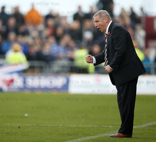Ally McCoist encourages his team
