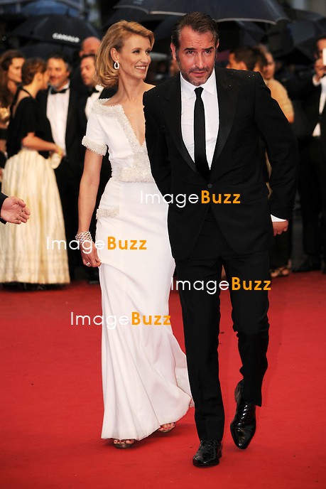 Jean Dujardin and  Alexandra Lamy - 65th Cannes Film Festival closing ceremony.May 27th, 2012.