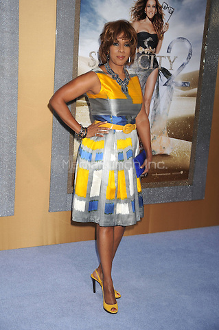 Gayle King at the film premiere of 'Sex and the City 2' at Radio City Music Hall in New York City. May 24, 2010.Credit: Dennis Van Tine/MediaPunch