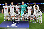 Tottenham's team group during the UEFA Champions League match at the Tottenham Hotspur Stadium, London. Picture date: 26th November 2019. Picture credit should read: David Klein/Sportimage