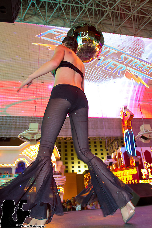 Fremont Street Experience Fremont Street Fever production show runs Thursday thru the summer