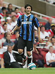 Inter Milan's Sanitago Solari in action. .Pic SPORTIMAGE/David Klein