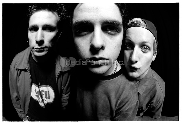 Green Day portrait taken on December 14, 1995. Credit: Jay Blakesberg/MediaPunch ***HIGHER RATES APPLY***