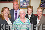 NIGHT OUT: Enjoying themselves at the Celebration Night held in John Mitchell's GAA Clubhouse on Thursday night to mark the moving of the club, the 2nd oldest in the country, to it's new home in Farmers Bridge were l-r: Niamh Walsh-O'Connor, Thomas, Angela & Margaret Walsh with Ilene Morriarty-Walsh.   Copyright Kerry's Eye 2008