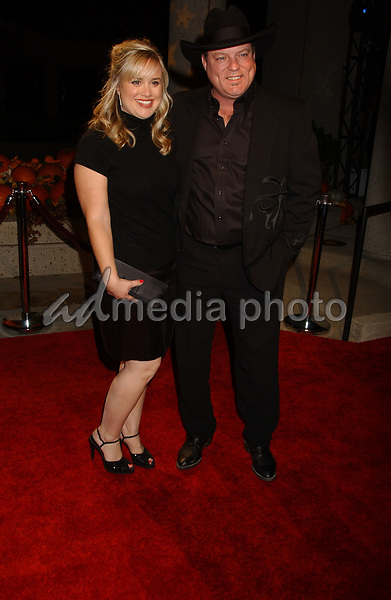06 November 2007 - Nashville, Tennessee - John MIchael Montgomery and wife. BMI Country Awards 2007 held at BMI Headquarters. Photo Credit: Laura Farr/AdMedia