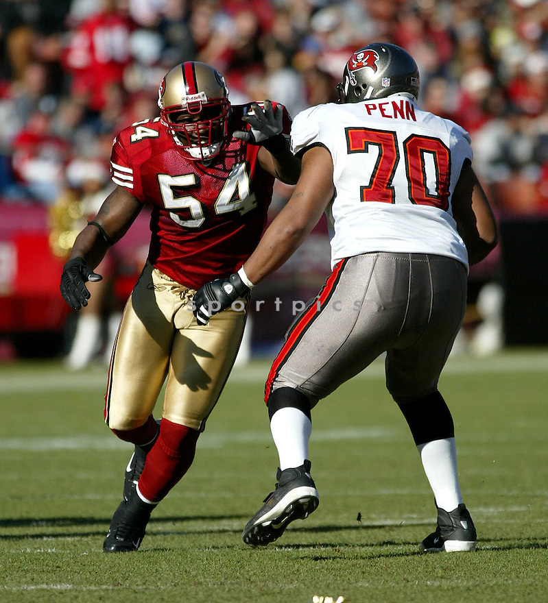 RODERICK GREEN, of the San Francisco 49ers  in action during the 49ers game against the Tampa Bay Buccaneers on December 23, 2007 in San Francisco, California...49ER win 27-7..SportPics