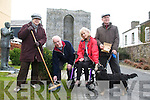 Listowel Tidy Towns:Aine Andrews, Michael Caffrey, Councilor Jackie Barrett-Madigan & Paddy Keane and his dog Purdy.