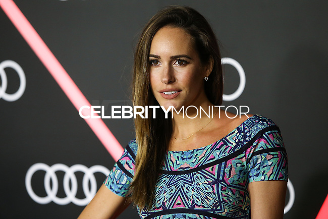 LOS ANGELES, CA - JANUARY 09: Louise Roe arrives at the Audi Golden Globe Awards 2014 Cocktail Party held at Cecconi's Restaurant on January 9, 2014 in Los Angeles, California. (Photo by Xavier Collin/Celebrity Monitor)