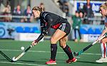 AMSTELVEEN - Michelle Fillet (Adam)   tijdens de hoofdklasse hockeywedstrijd dames,  Amsterdam-Oranje Rood (2-2) .   COPYRIGHT KOEN SUYK
