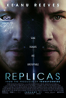 POSTER ART<br /> Replicas (2018) <br /> *Filmstill - Editorial Use Only*<br /> CAP/RFS<br /> Image supplied by Capital Pictures