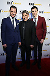 Michael McCorry Rose, Stephen Schwartz and Jason Gotay attends the Dramatists Guild Foundation toast to Stephen Schwartz with a 70th Birthday Celebration Concert at The Hudson Theatre on April 23, 2018 in New York City.