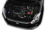 Car stock 2017 Suzuki Swift GL+ 5 Door Hatchback engine high angle detail view