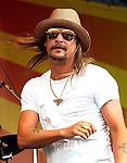 "May 8, 2011 New Orleans, La.: Singer / performer Kid Rock performs ""2011 New Orleans Jazz & Heritage Festival"" on May 8, 2011 in New Orleans, La."