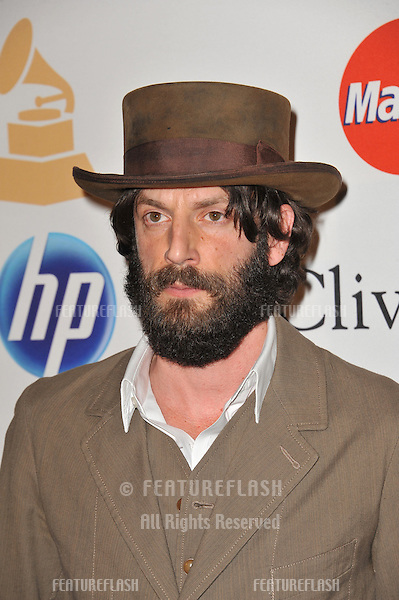 Ray Lamontagne at the 2011 Clive Davis pre-Grammy party at the Beverly Hilton Hotel..February 12, 2011  Beverly Hills, CA.Picture: Paul Smith / Featureflash