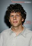 "HOLLYWOOD, CA. - September 23: Jesse Eisenberg arrives at the Los Angeles premiere of ""Zombieland"" at Grauman's Chinese Theatre on September 23, 2009 in Hollywood, California."