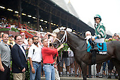 Soldat, seen winning the With Anticipation at Saratoga last summer, takes on To Honor and Serve in the Fountain of Youth at Gulfstream Park on Saturday, a key Kentucky Derby prep.