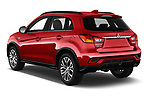 Car pictures of rear three quarter view of 2019 Mitsubishi ASX Instyle 5 Door SUV Angular Rear