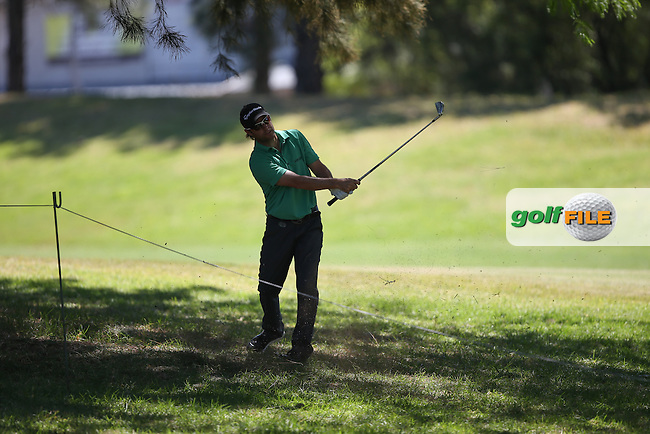 Mark Tullo (CHI) in the trees down the 12th during Round Two of the Tshwane Open 2015 at the Pretoria Country Club, Waterkloof, Pretoria, South Africa. Picture:  David Lloyd / www.golffile.ie. 13/03/2015