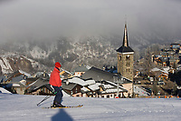 Europe/France/Rhone-Alpes/73/Savoie/Saint-Martin-de-Belleville : la station village et ses pistes