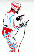 06.02.2013, Planai, Schladming, AUT, FIS Weltmeisterschaften Ski Alpin, Super-G, Herren, im Bild Gauthier De Tessieres (FRA), 2. Platz // Gauthier De Tessieres of France, 2nd place, during Super-G Men at the FIS Ski World Championships 2013 at the Planai Course, Schladming, Austria on 2013/02/06. EXPA Pictures © 2013, PhotoCredit: EXPA/ Martin Huber .Schladming 6/2/2013 .Mondiali Sci 2013.SuperG Uomini.Foto Insidefoto - ITALY ONLY