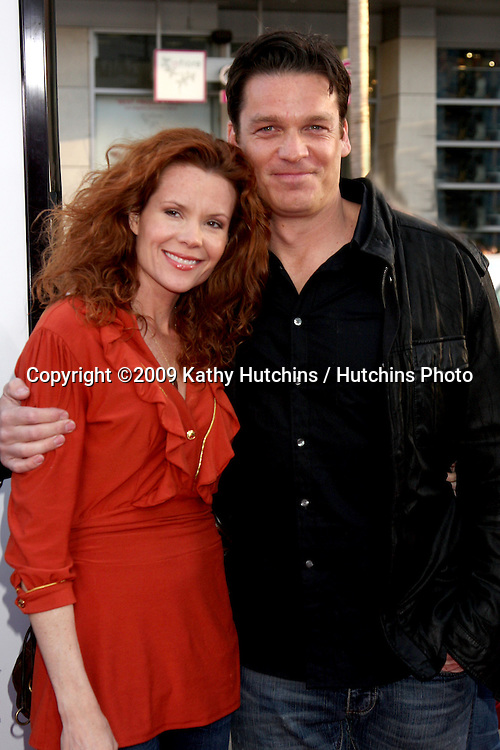 Robyn Lively & Bart Johnson arriving at the 17 Again Premiere at Grauman's Chinese Theater in Los Angeles, CA on April 14, 2009.©2009 Kathy Hutchins / Hutchins Photo....                .