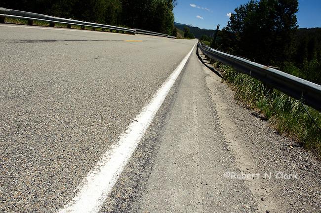 Highway 75 North of Sun Valley, Idaho
