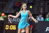 27th April 2017, Stuttgart, Germany; Porsche Tennis Grand Prix Stuttgart; Angelique KERBER (GER) versus Kristina MLADENOVIC (FRA)