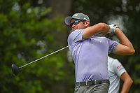 Corey Conners (CAN) watches his tee shot on 12 during round 4 of the Fort Worth Invitational, The Colonial, at Fort Worth, Texas, USA. 5/27/2018.<br /> Picture: Golffile | Ken Murray<br /> <br /> All photo usage must carry mandatory copyright credit (© Golffile | Ken Murray)