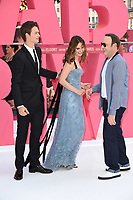 Ansel Elgort, Lily James &amp; Kevin Spacey at the European premiere for &quot;Baby Driver&quot; at Cineworld in London, UK. <br /> 21 June  2017<br /> Picture: Steve Vas/Featureflash/SilverHub 0208 004 5359 sales@silverhubmedia.com