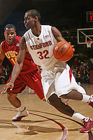 STANFORD, CA - JANUARY 6:  Da'Veed Dildy of the Stanford Cardinal during Stanford's 54-53 win over the USC Trojans on January 6, 2009 at Maples Pavilion in Stanford, California.